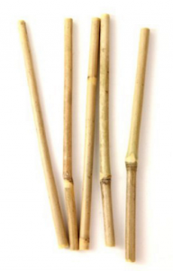 Image of a Bamboo Straw