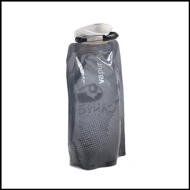 Image of a Grey Vapur Water Bottle