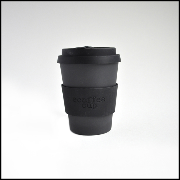 Image of a Black Ecoffee Cup