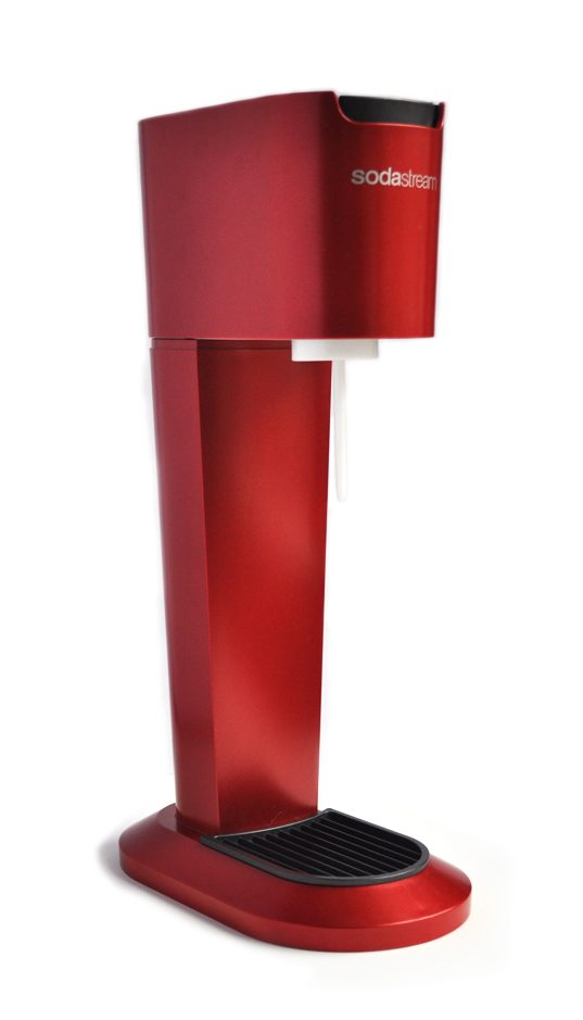 Image of a Red SodaStream
