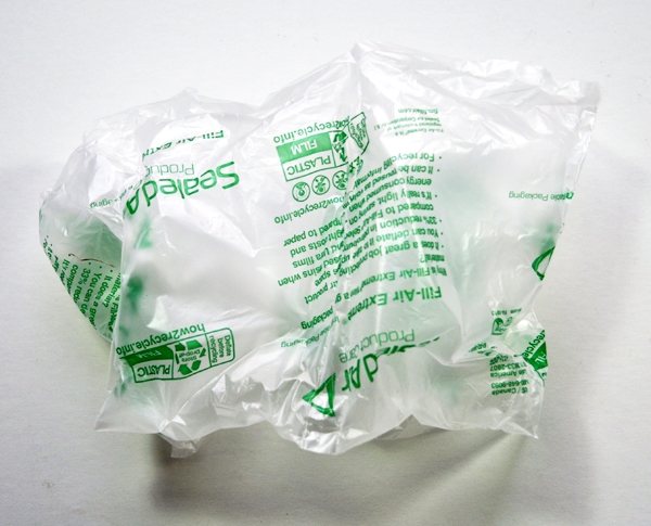 Image of a Plastic Air Pillow