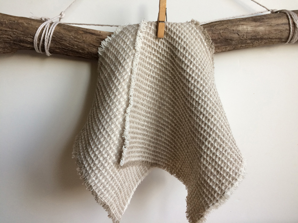 Image of Linen Dish Rags, one of several eco-friendly alternatives to sponges