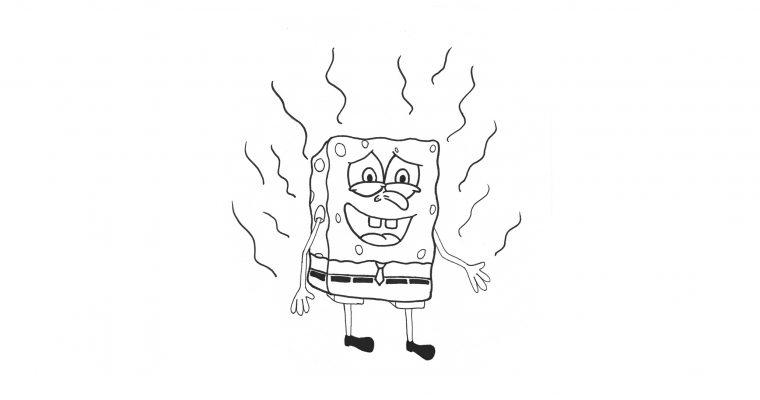 Sponge-Bob Nasty Pants