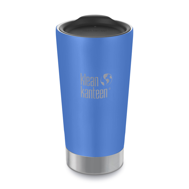 Image of a blue Klean Kanteen Insulated Tumbler - 16oz