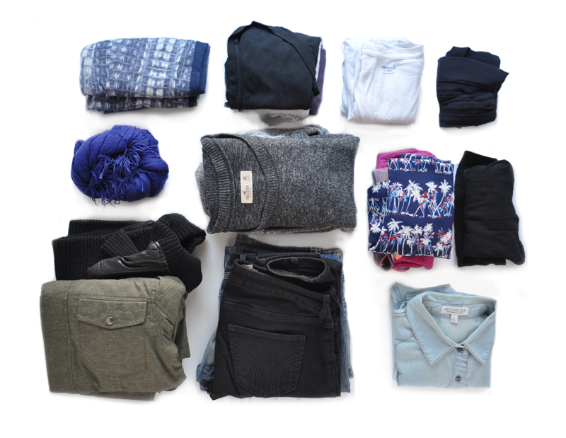 30-item Minimalist Travel Wardrobe