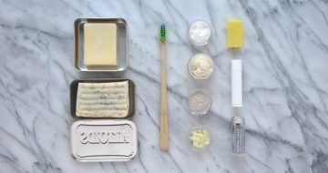 How To Build Your Zero Waste Travel Toiletry Bag