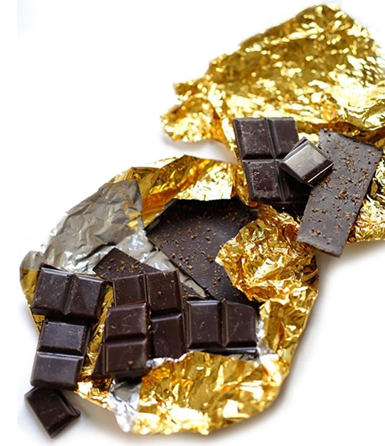 Image of fine & raw vegan chocolate
