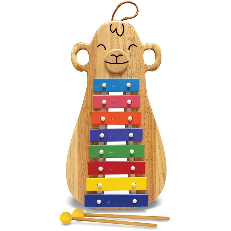 a wooden monkey glockenspiel by Green Tones