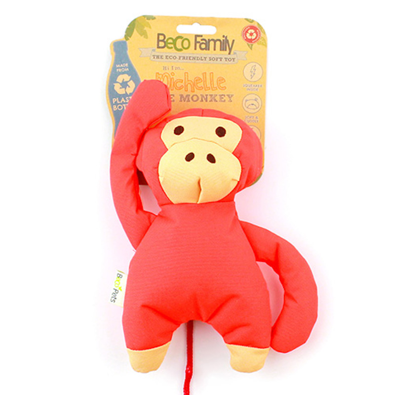 a monkey plush from Beco Family