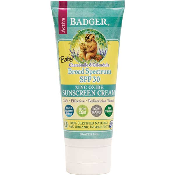 tube of badger sun screen
